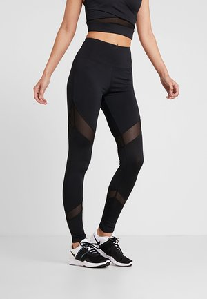 INSERT LEGGING - Collants - black