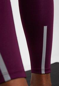 South Beach - INSERT HIGHWAIST - Legging - burgundy - 7