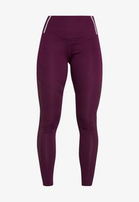 South Beach - INSERT HIGHWAIST - Tights - burgundy - 6