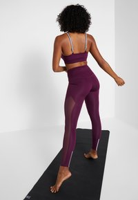 South Beach - INSERT HIGHWAIST - Tights - burgundy - 2