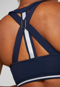 South Beach - CROSS BACK DETAIL BRALET - Sport BH - navy - 6