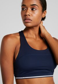 South Beach - CROSS BACK DETAIL BRALET - Sport BH - navy - 4