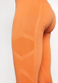 South Beach - PLAIN LEGGING - Legging - orange - 4