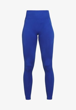 PLAIN LEGGING CUT SEW - Legging - cobalt