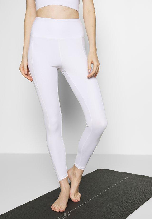 INSERT LEGGING - Tights - white