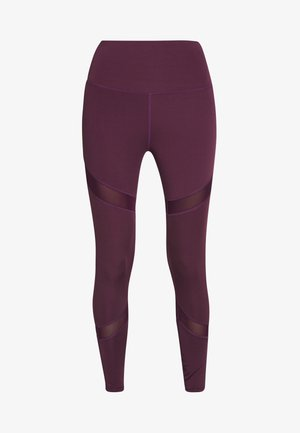 INSERT LEGGING - Leggings - plum