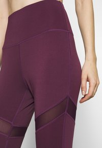 South Beach - INSERT LEGGING - Medias - plum - 4