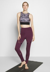 South Beach - INSERT LEGGING - Medias - plum - 1