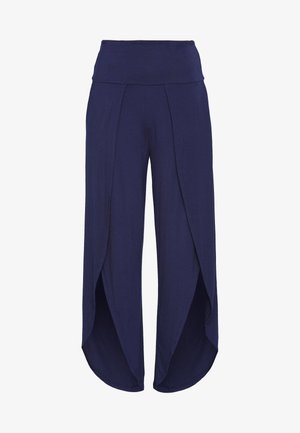 YOGA SPLIT TROUSERS - Trainingsbroek - navy