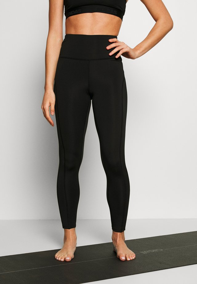 YOGA LEGGING - Tights - black