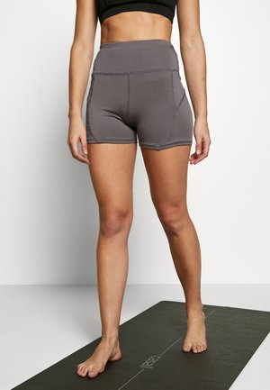 BOOTY SHORT - Legging - smoky grey