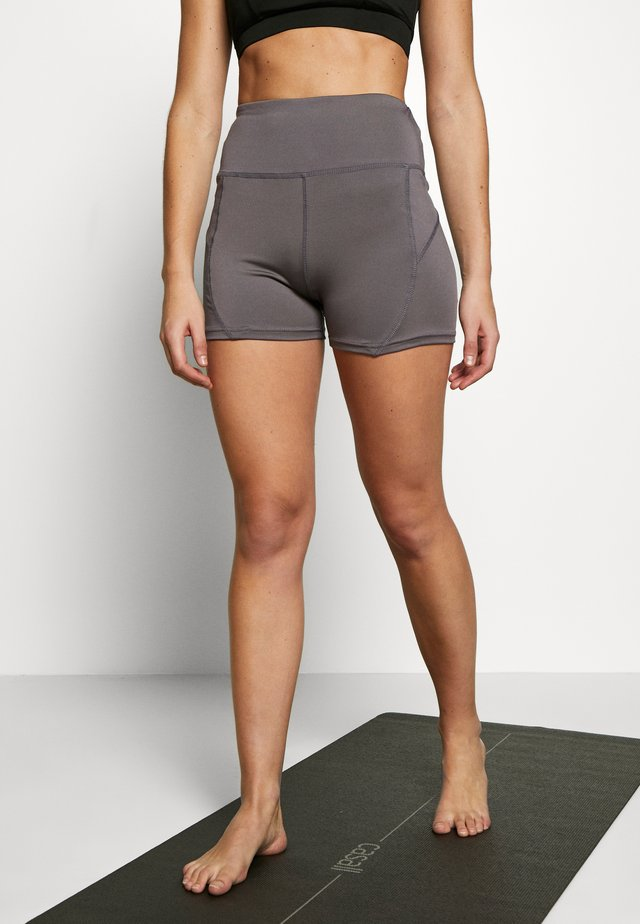 BOOTY SHORT - Tights - smoky grey