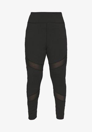 INSERT LEGGING - Collants - black