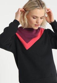 South Beach - COLOURBLOCK ASYMMETRIC - Sweater - black - 3