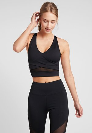 PANEL BRA TOP - Sports-BH - black