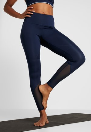 INSERT HIGHWAIST LEGGING - Legging - navy
