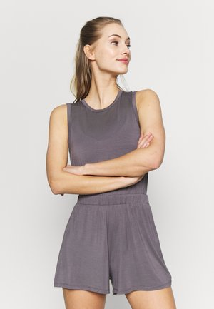 YOGA ROMPER - Chándal - smoky grey