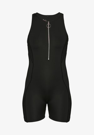 SHORT UNITARD - Trainingsanzug - black