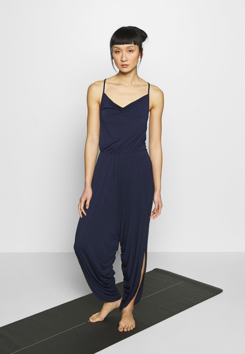 South Beach - YOGA JUMPSUIT - Trainingsanzug - navy