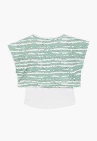 South Beach - GIRLS PRINTED TEE - Print T-shirt - sage green - 1