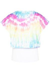 South Beach - GIRLS PRINTED TEE - Triko spotiskem - rainbow - 1