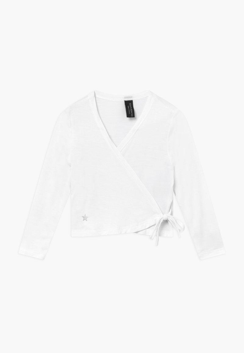 South Beach - GIRLS BALLET WRAP - T-shirt à manches longues - white
