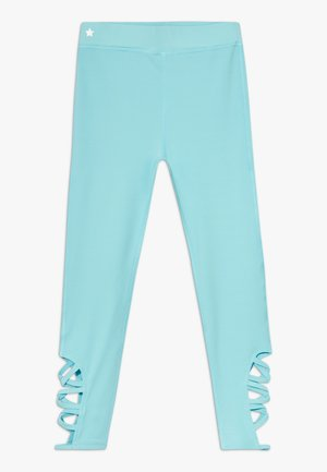 GIRLS CUT OUT  - Leggings - light blue