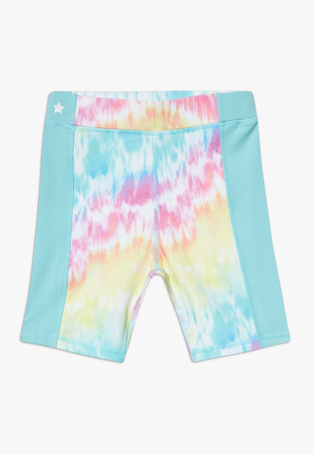 GIRLS  - Leggings - rainbow/light blue