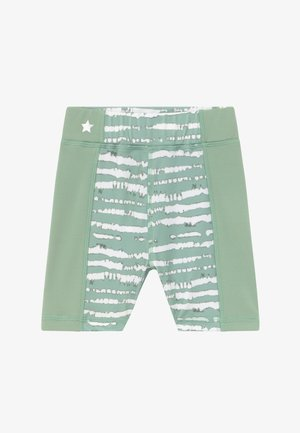 GIRLS PRINTED SHORTS - Punčochy - sage green