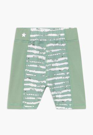 GIRLS PRINTED SHORTS - Collants - sage green