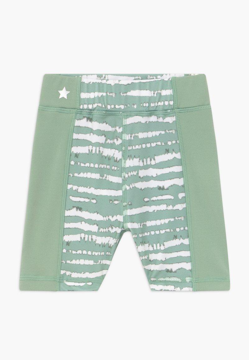 South Beach - GIRLS PRINTED SHORTS - Punčochy - sage green