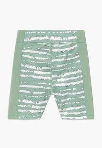 South Beach - GIRLS PRINTED SHORTS - Punčochy - sage green - 1