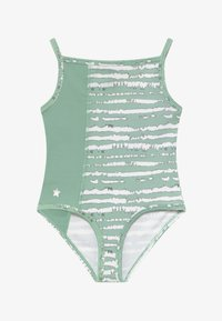 South Beach - GIRLS BALLET CAMISOLE LEOTARD - Danspakje - sage green