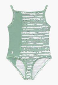 South Beach - GIRLS BALLET CAMISOLE LEOTARD - Danspakje - sage green - 0