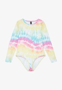 South Beach - GIRLS PRINTED BALLET LEOTARD - Danspakje - rainbow/light blue