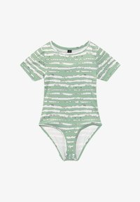 South Beach - GIRLS PRINTED BALLET LEOTARD - Danspakje - sage green - 2
