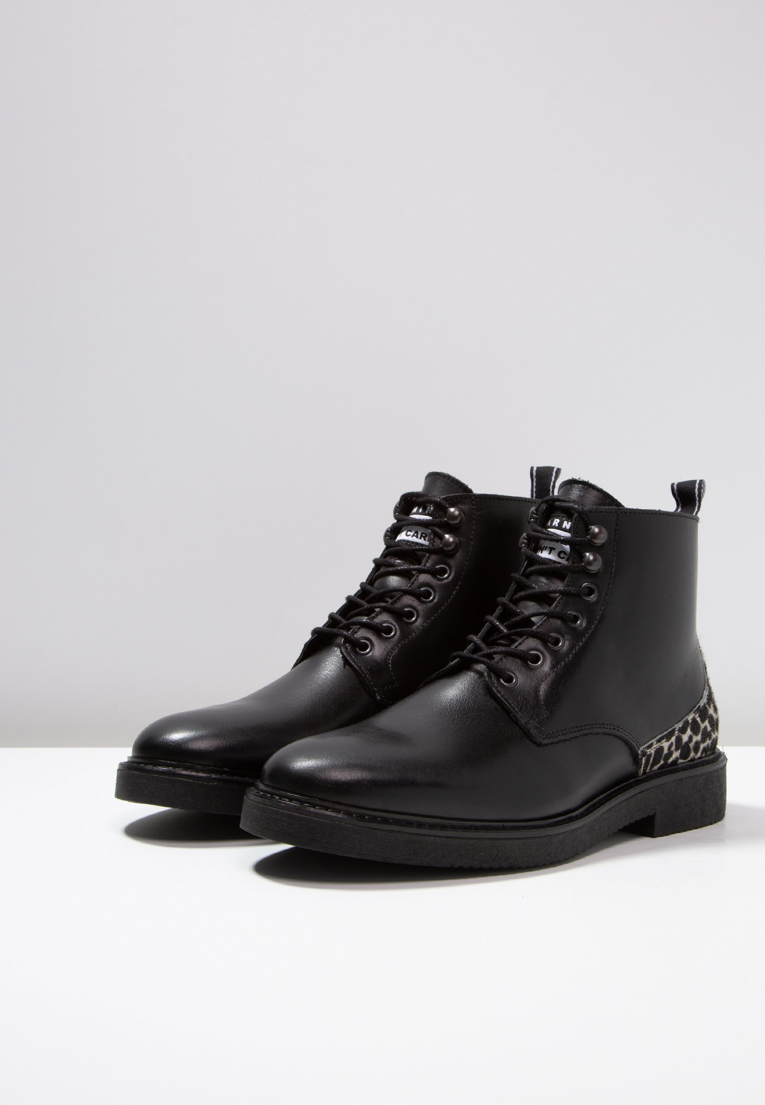 Lacets BootBottines À Society Buzz Lace Black UMLqVjzSpG