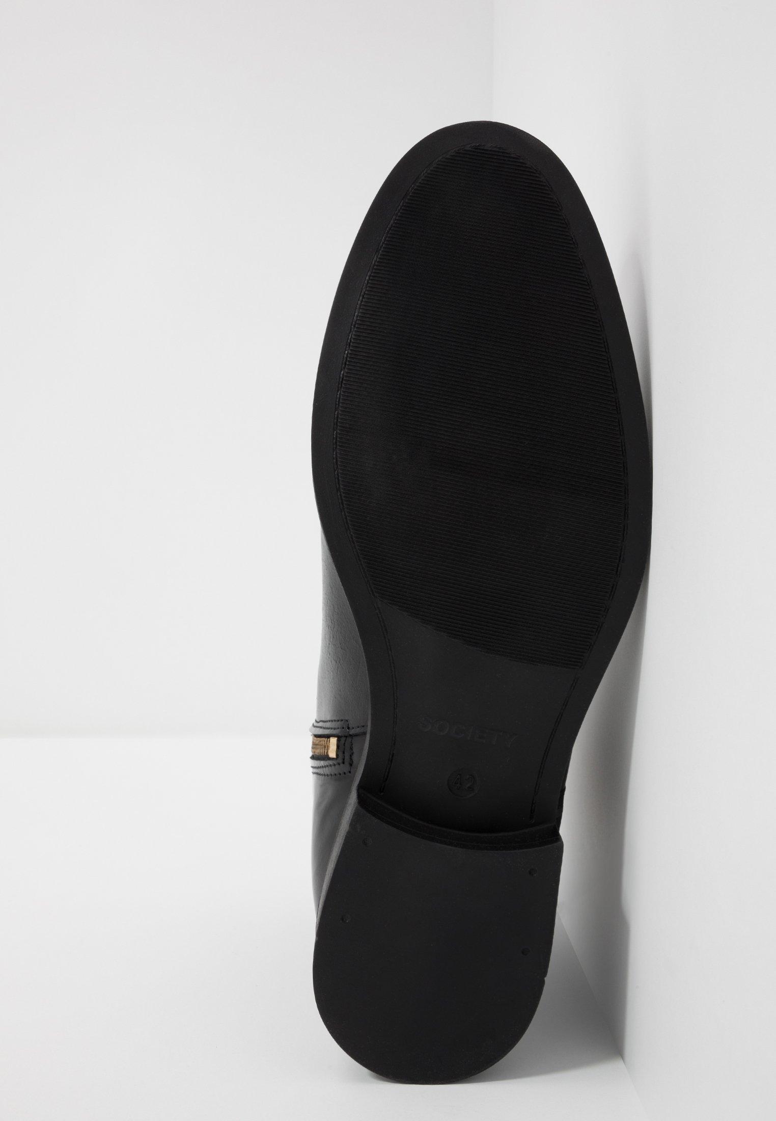 Black Society Zip BootBottines Polido Elite g76Ybfyv