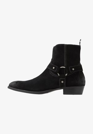 YARD HARNESS BOOT - Biker-/cowboynilkkurit - black