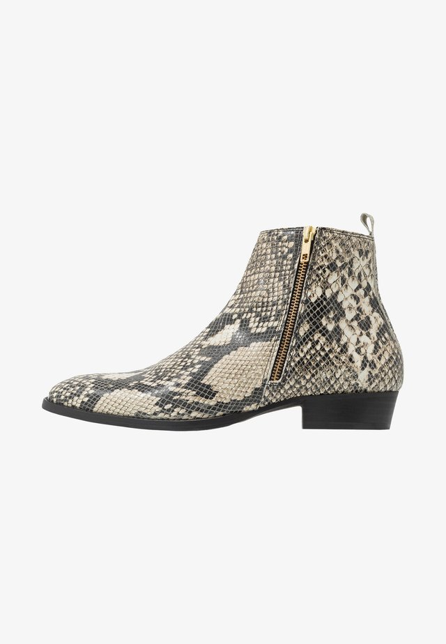 YONDER ZIP BOOT - Stiefelette - natural