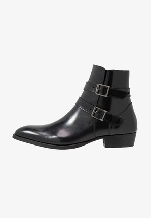 YUPPY ZIP BOOT - Bottines - black polido