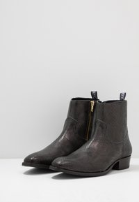 Society - YAGER - Santiags - black lizard - 2