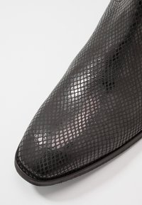 Society - YAGER - Santiags - black lizard - 5