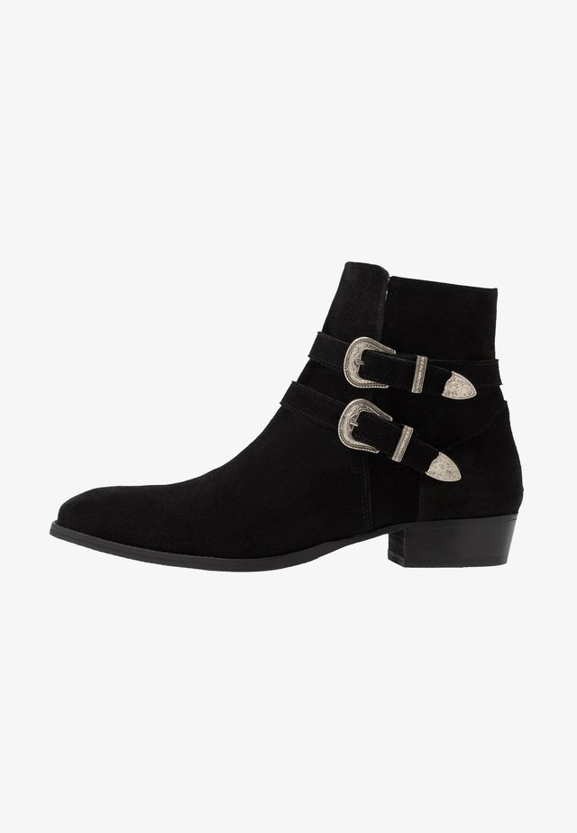 YUPPY - Cowboy/biker ankle boot - black