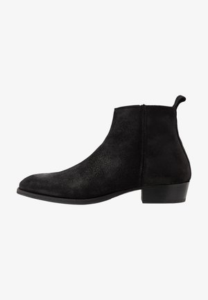 YONDER - Classic ankle boots - black metallic