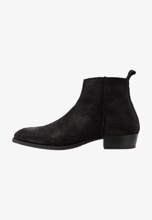 YONDER - Kotníkové boty - black metallic