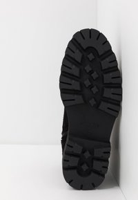 Society - RESERVE - Šněrovací kotníkové boty - black - 4