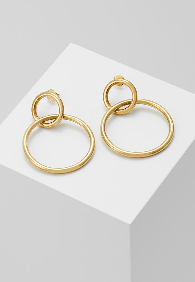 GRADUATED INFINITY STUDS - Náušnice - gold-coloured