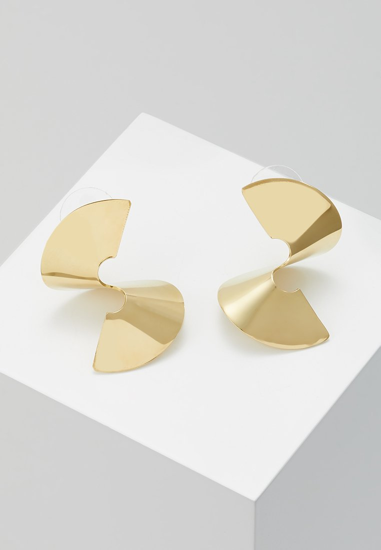 Soko - TWISTED STUDS - Earrings - gold-coloured