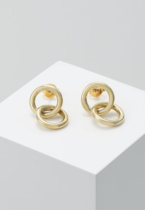 KUMI MINI HOOP STUDS - Oorbellen - gold-coloured